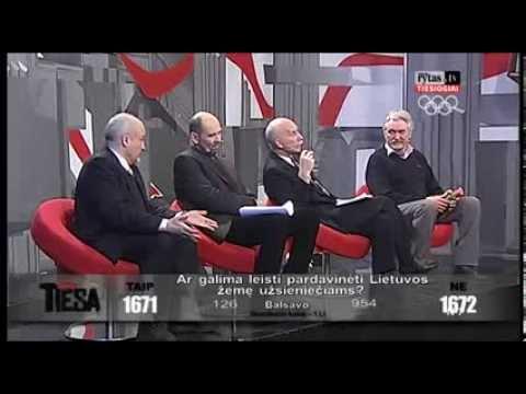 Ar parduosim Tautos Namus? Lietuvos ryto TV