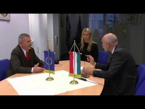 R.Paulauskas kalbasi su Vengrijos ambasadoriumi Zoltanu Pecze