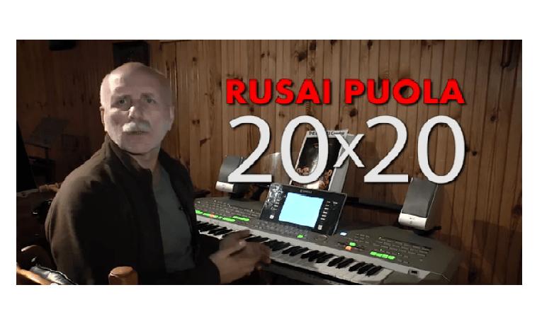 Rusai puola 20×20. Rolandas Paulauskas