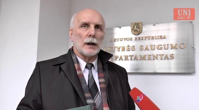 Signatarai Rolandas Paulauskas ir Zigmas Vaišvila dėl VSD šmeižto [2016-03-31]