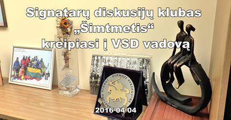"""Signatarų diskusijų klubas """"Šimtmetis"""" kreipiasi į VSD vadovą (video)"""