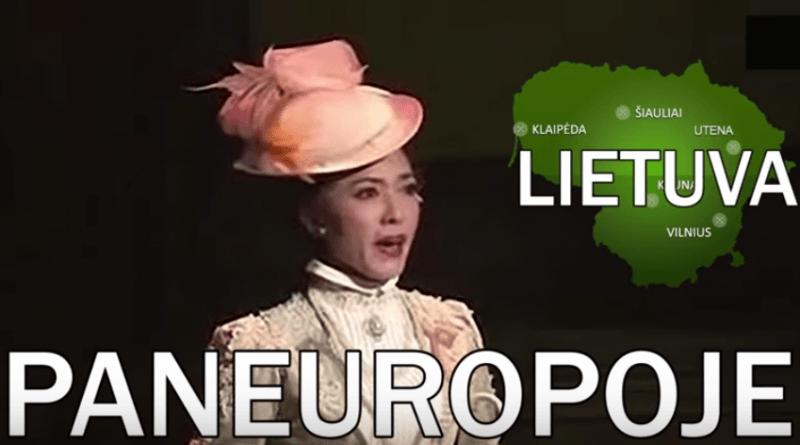 Lietuva Paneuropoje. (video)
