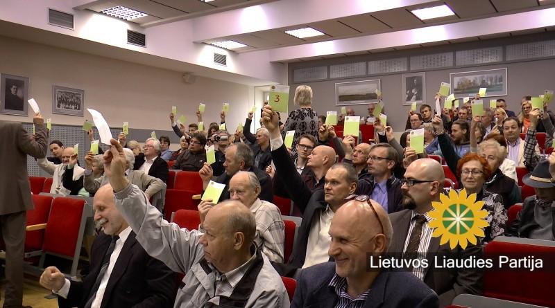 Lietuvos Liaudies partijos pirmininku išrinktas Rolandas Paulauskas