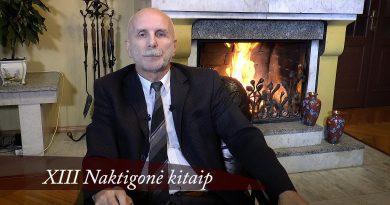 XIII Naktigonė kitaip. III dalis. Rolandas Paulauskas. 2016 08 15