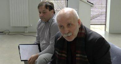 Susitikimas su Egidijumi Baltušiu ir Rolandu Paulausku Anykščiuose