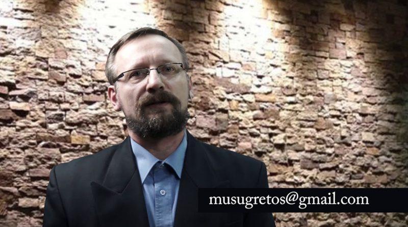 """""""Mūsų Gretų"""" veiklos koordinatorius – Ričardas Vysockis"""