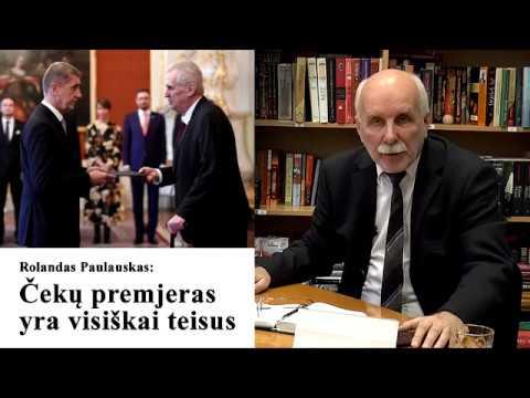 Čekų premjeras yra visiškai teisus (video)