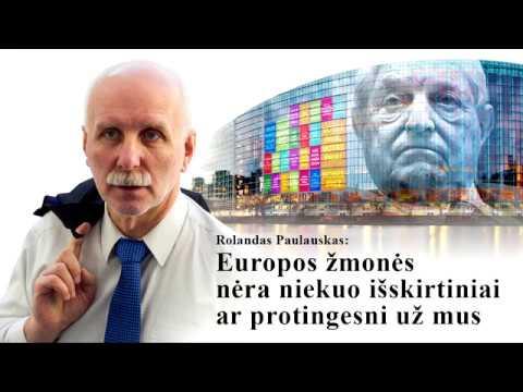 Europos žmonės nėra niekuo išskirtiniai ar protingesni už mus (video)