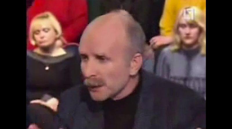 """Rolandas Paulauskas LTV laidoje """"Paskutinė kryžkelė"""": Stojant į ES. 2003 04 07"""