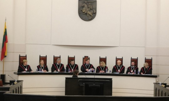 Kam Seimas, kai yra Konstitucinis Teismas