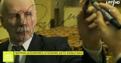 """Dainą kovai už Nepriklausomybę tuo metu sukūręs signataras Rolandas Paulauskas: istorija rodo – """"mes"""" yra visada svarbiau už """"aš"""""""