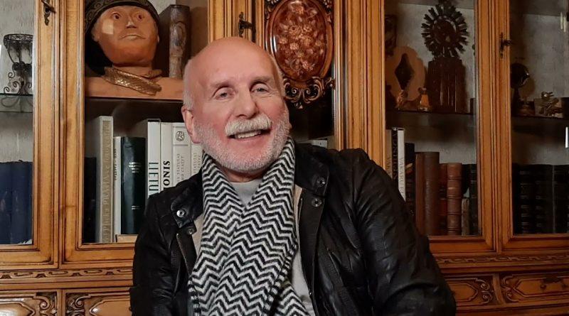 Dainius Kepenis kalbina Rolandą Paulauską